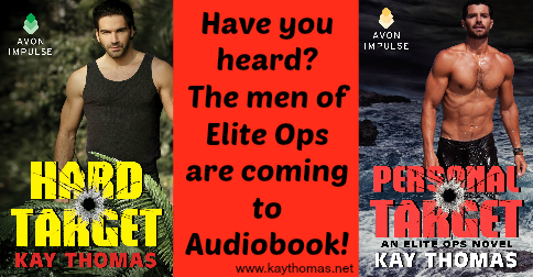 The Elite Ops series by Kay Thomas is releasing in Audiobook on February 24, 2015.