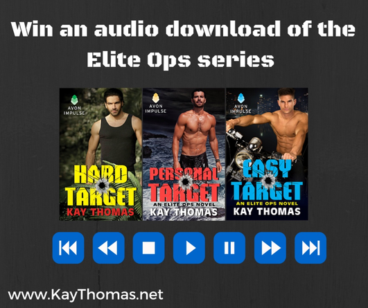 Entire Elite Ops audiobook collection giveaway from Kay Thomas